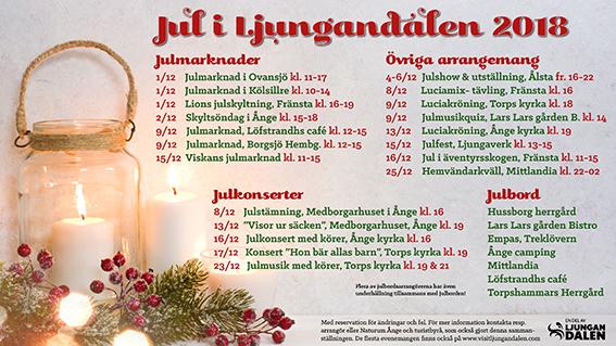 Arrangemang I Juletid ånge Kommun